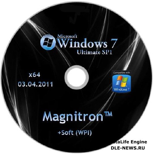 Windows 7 Ultimate SP1 x64 Magnitron™ +Soft (WPI) от 03.04.2011