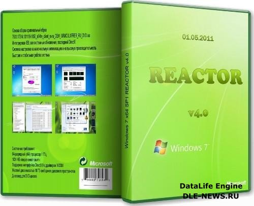 Windows 7 x64 SP1 REACTOR v4.0 01.05.2011