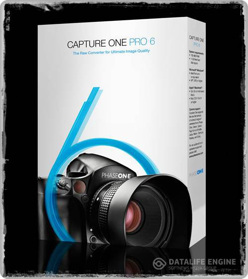 Phase One Capture One PRO 6.3.3 ML (+RUS) RAW-converter