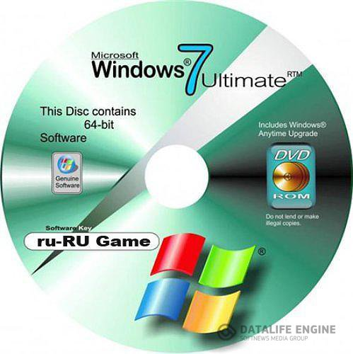 Microsoft Windows 7 Game-RU-64 Lite Update 111203 (31.01.12) RUS