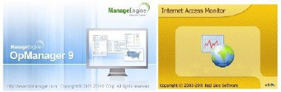 Zoho ManageEngine OpManager Professional 9 + Internet Access Monitor 3.9
