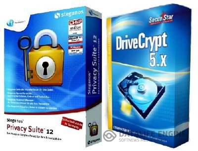 Steganos Privacy Suite 13 + DriveCrypt 5.4