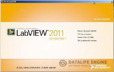 LabVIEW 2011 sp1 (x86+x64) + NI-DAQmx 9.5 + Device Drivers 2012.02 (for Windows) [2012, ENG] + Crack