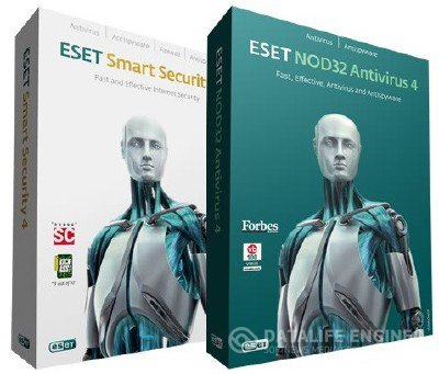 ESET Smart Security+ESET NOD32 Antivirus 4.2 Final x32/x64 Rus + Руководство пользователя