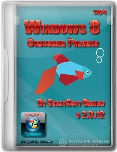 Windows 8 Consumer Preview By StartSoft Design (x64/RUS/ENG/2012)