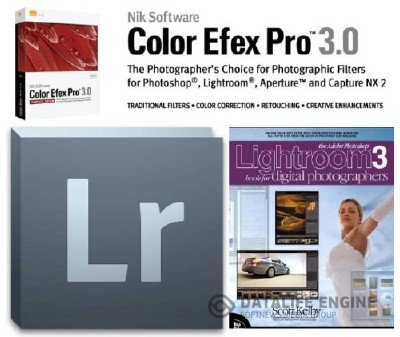 Adobe Photoshop Lightroom 3.6 Final + Плагин Nik Color Efex Pro 3 + Самоучитель