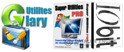 Super Utilities Pro 9.9 + Glary Utilities Pro 2.43+Portable + IObit Toolbox 1.2 (2012RUS)