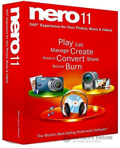 Nero Multimedia Suite 11.2.00400 + Toolkit + Creative Collections Pack 11 (2012) Full Repack v2.1