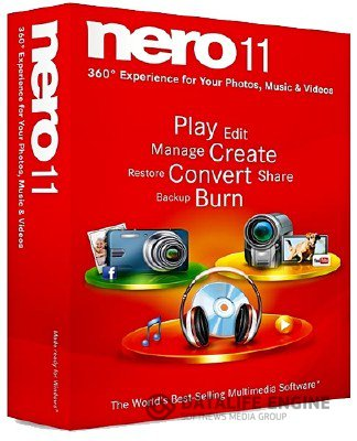 Nero Multimedia Suite 11 + Toolkit + Creative Collections Pack 11 + Nero Lite 11 Portable