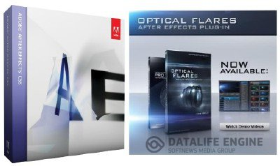 Adobe After Effects CS5 10 RUS + Плагин Optical Flares 1.2 + Pro Presets x86+x64