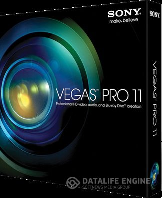 Sony Vegas Pro 11 Build 594/595 RePack + Portable (x86x64,ENGRUS,2012)