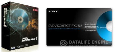 Sony DVD Architect Pro 5.2 Rus + Themes + TMPGEnc Authoring Works 4 RUS + Theme pack
