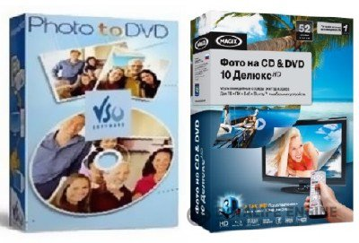 MAGIX PhotoStory on CD & DVD 10 Deluxe HD + VSO PhotoDVD 4 RePack
