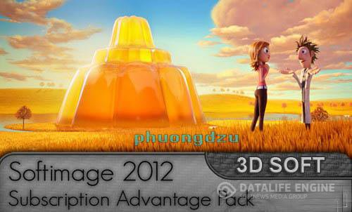 Autodesk Softimage 2012 Subscription Advantage Pack Win x64