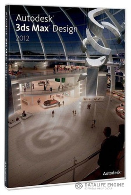 Autodesk 3ds Max Design 2012 (x32/x64) Incl Collection of 3D Models