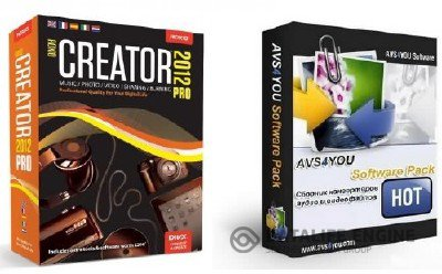 AVS All-In-One Install Package 2 + Roxio Creator 2012 PRO 13.5 (x86+x64, 2012, RUS)