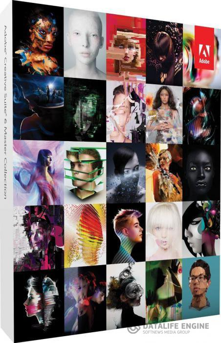 Adobe Creative Suite 6 Master Collection Final (Russian) 2012
