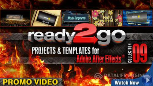 Digital Juice Ready2Go: Collection 9 for After Effects (2DVDs)