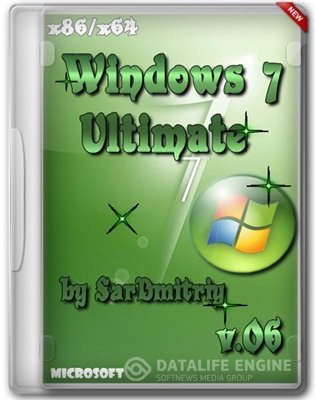 Microsoft Windows 7 Ultimate SP1 x64-x86 by SarDmitriy v.06 (2012) (Rus)