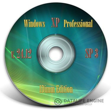 Windows XP SP3 IDimm Edition Full USB v.24.12 Русский (VLK)