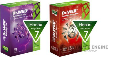 Dr.Web Anti-Virus + Dr.Web Security Space 7.0.1.6050 Final [Multi/Русский] (2xCD)