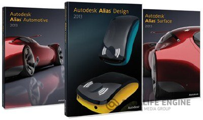 Autodesk Alias Suite 2013 x86-x64 (English) ISO-образ + Crack