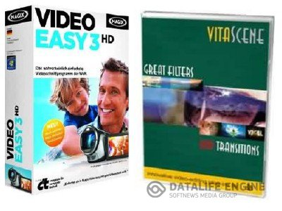 MAGIX Video Easy 3 HD 3 + proDAD - VitaScene 2 (2012, x86 x64)