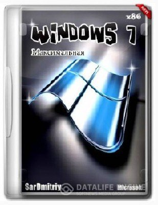 Microsoft Windows 7 Ultimate SP1 X86(32) By SarDmitriy v.июль (2012) (Rus)