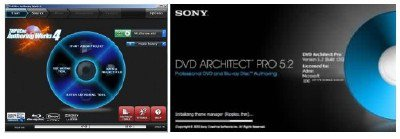 TMPGEnc Authoring Works 4 full + Sony DVD Architect Pro 5.2 (2012)