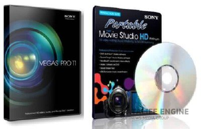 Sony Vegas Pro 11 (x86x64,RUS2012) + Portable Sony Vegas Movie Studio HD Production Suite 11