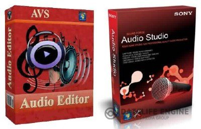 AVS Media - Audio Editor 7.1 + Portable + Sony Sound Forge Audio Studio 10 (2012, ENG.RUS)