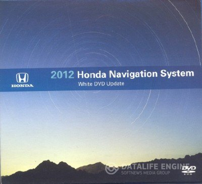 Honda Navigation System 2012 USA/Canada White DVD Map Update v4.A2 + Honda USA 04/2011