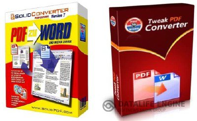 Solid Converter PDF 7.2 Final + Portable + Tweak PDF to Word Converter 3 (2012, RUS)