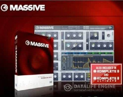 "Native Instruments Massive 1.3  + Видеокурс ""Massive от и до"" [2012, RUS]"