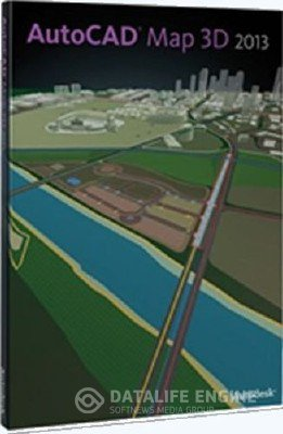 Autodesk AutoCAD Map 3D 2013 [Ru] [x86] + Serial
