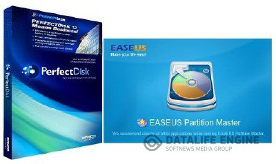 Raxco PerfectDisk Professional & Server 12.5 + EASEUS Partition Master Pro Edition 9.1