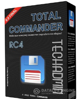 Total Commander v8.0 Final TechAdmin (RC4) x86 [08.2012, RUS]