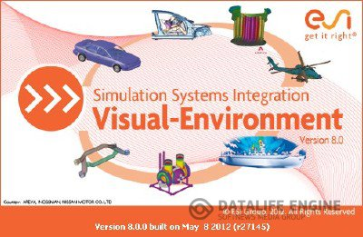 ESI Visual Environment v.8.0 for Windows x86+x64 [2012, ENG+FRA] + Crack