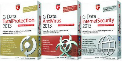 G Data AntiVirus & Internet Security & Total Protection 2013 v.23.0.4.0 Final (Официальные русские версии)