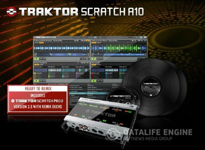 Native Instruments - Traktor Scratch Pro 2.5.1 x86 [2012] by CHAOS! + Crack