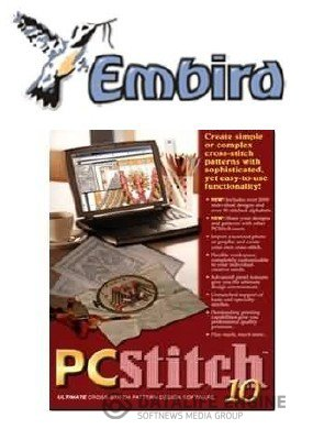 PCStitch 10 + EMBIRD 2010 8.7