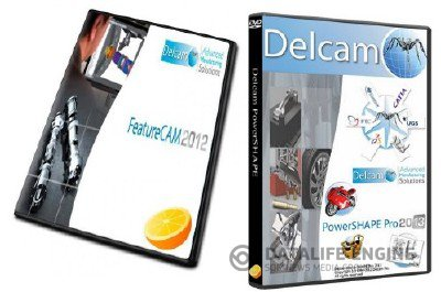 Delcam FeatureCam 2012 R3 SP3 v18 + Delcam PowerSHAPE 2013 SP0 + PS-Catalogues 2013 SP0