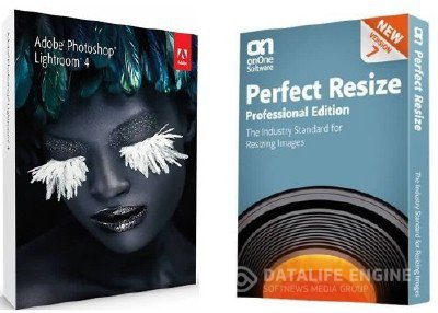 Adobe Photoshop Lightroom 4.1 Rus + OnOne Perfect Resize 7 Pro (2012)