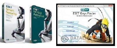 ESET NOD32 Antivirus 4.2 + Smart Security 4.2 + Utilities + ESET KEY FINDER 8