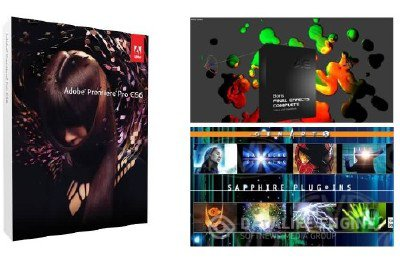Adobe Premiere Pro CS6 + Boris Final Effects Complete 6 + Sapphire Visual Effects 6