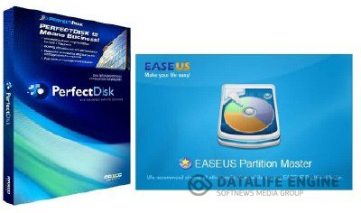 EASEUS Partition Master Professional Edition 9.1 + Raxco PerfectDisk Pro & Server 12.5