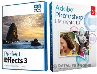 Adobe Photoshop Elements 10 + onOne Perfect Effects 3 [2012]