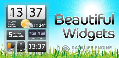 Beautiful Widgets v.4.11.3 + MegaPack [Android 2.1+, RUS]