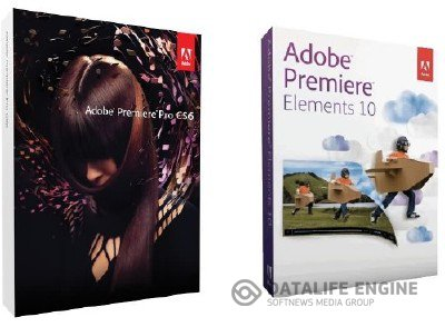 Adobe Premiere Pro CS6 (2012) + Adobe Premiere Elements 10 + Additional Content