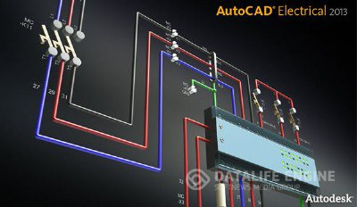 Autodesk AutoCAD Electrical 2013 SP1 x86-x64 RUS-ENG (AIO) + Crack